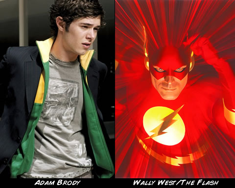 Adam Brody como The Flash